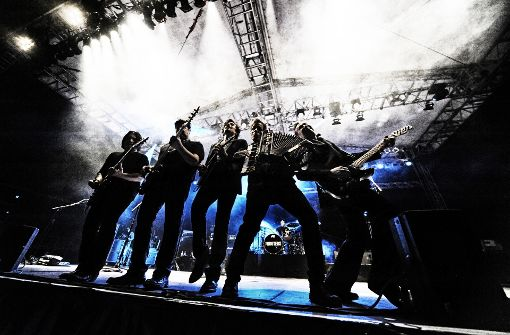 Die Rockband The Hooters (Foto) springt beim Winterbacher Zeltspektakel im Juli für Kansas ein. Foto: Veranstalter