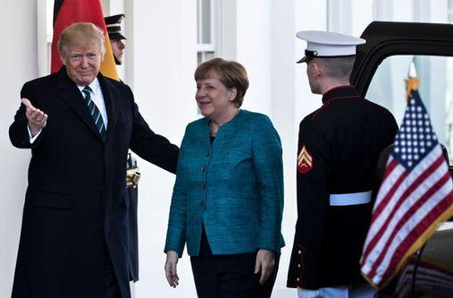 Merkel weiß nicht,was sie bei Trump erwartet