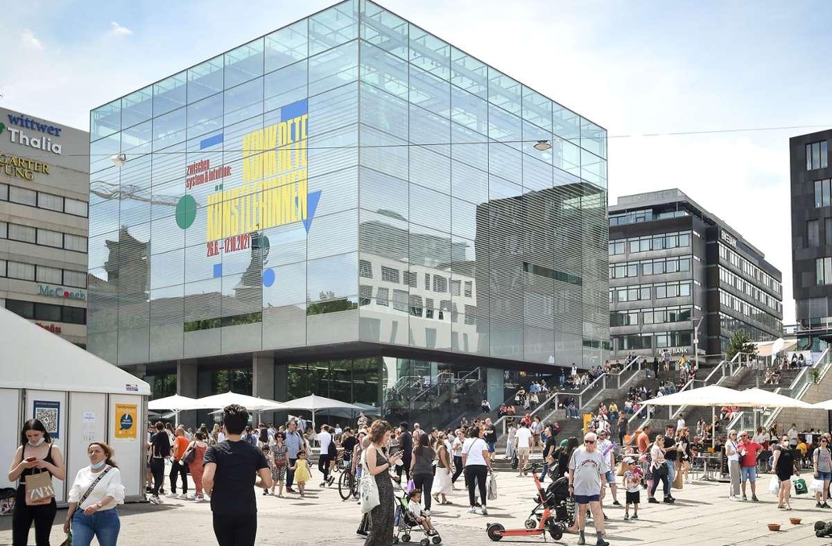Das Kunstmuseum – eines von 37 Museen in der Stadt Foto: Lichtgut /Ferdinando Iannone