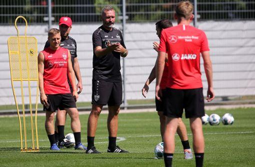 So bereitet Tim Walter sein Team auf Hannover 96 vor