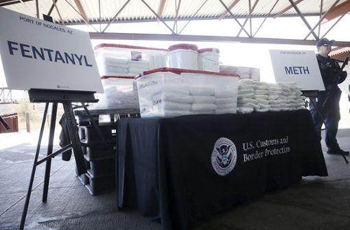 115 Kilogramm von tödlicher Droge entdeckt