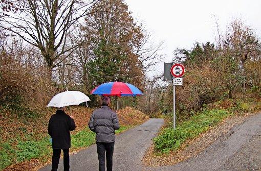 Bezirksbeiräte wollen Schleichweg schließen
