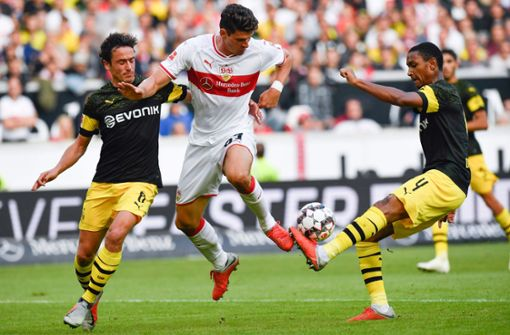 Dortmund vermiest Markus Weinzierl den VfB-Einstand