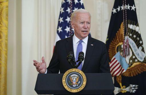 Biden will neue Regeln für Rüstungsexporte
