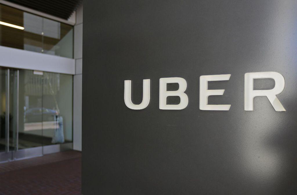 Uber ist seit langem für aggressive Geschäftspraktiken bekannt. Foto: AP