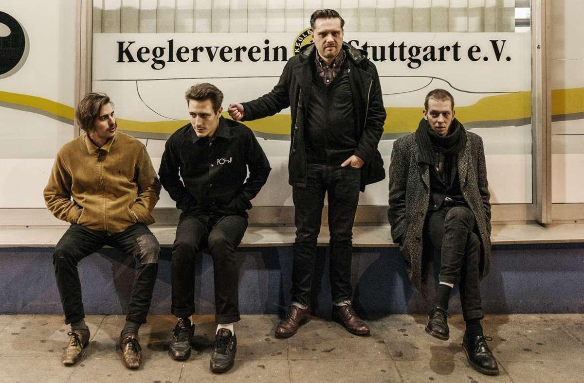 Die Stuttgarter Band Human Abfall ist in der Schorndorfer Manufaktur aufgetreten. Foto: Markus Milcke