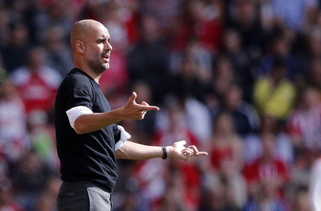 Vor seinem Wechsel nach England hat Guardiola schon 21 Titel mit Barcelona und Bayern geholt. Foto: AP