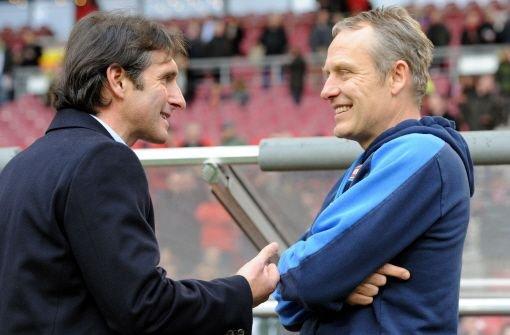 Streich lobt VfB und will die Schwaben ärgern