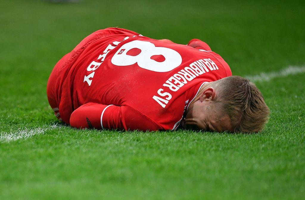 Lewis Holtby sorgt beim Hamburger SV für negative Schlagzeilen. Foto: Bongarts