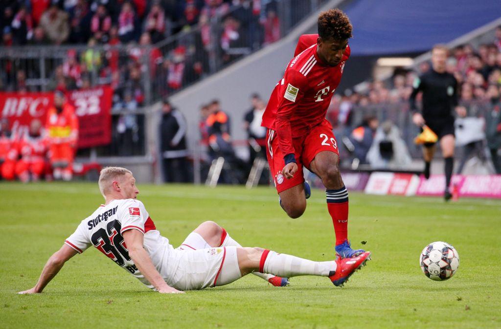 Der VfB Stuttgart hat beim FC Bayern München mit 1:4 verloren. Unsere Redaktion hat die Leistungen der VfB-Akteure wie folgt bewertet. Foto: Pressefoto Baumann