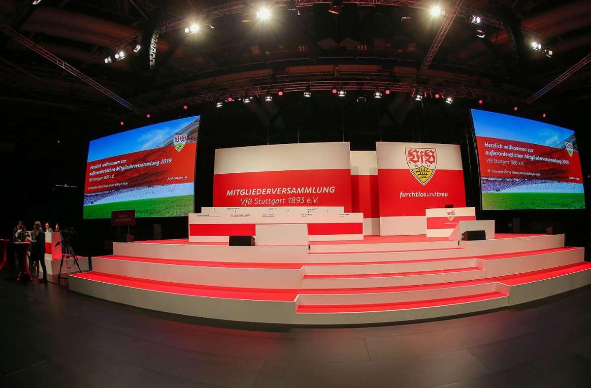 Wann findet die Mitgliederversammlung des VfB Stuttgart statt? Foto: Pressefoto Baumann/Julia Rahn