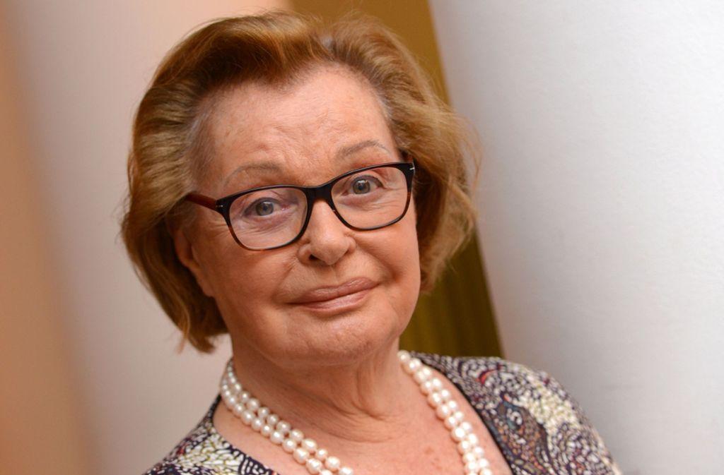 """Die österreichische Schauspielerin Nadja Tiller galt als eine der erotischsten Frauen des europäischen Films. Als Edelprostituierte Rosemarie Nitribitt in """"Das Mädchen Rosemarie"""" wurde sie Ende der 1950er-Jahre international bekannt. Foto: dpa"""