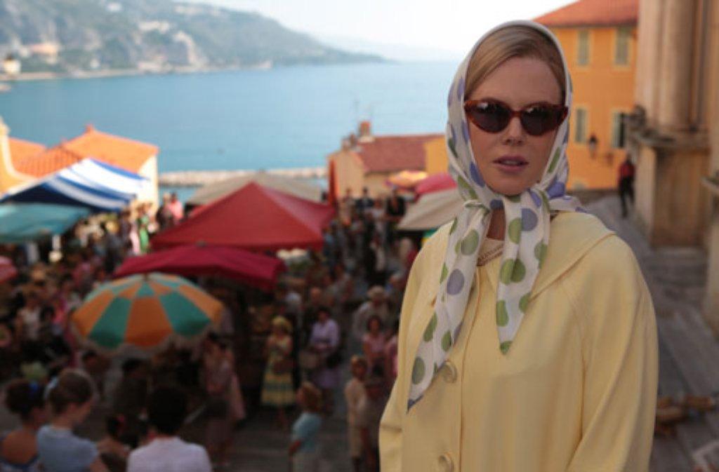 Der Film Grace von Monaco mit Nicole Kidman eröffnet das Filmfestival in Cannes. Die Fürstenfamilie ist empört. Foto: dpa/Gaumont