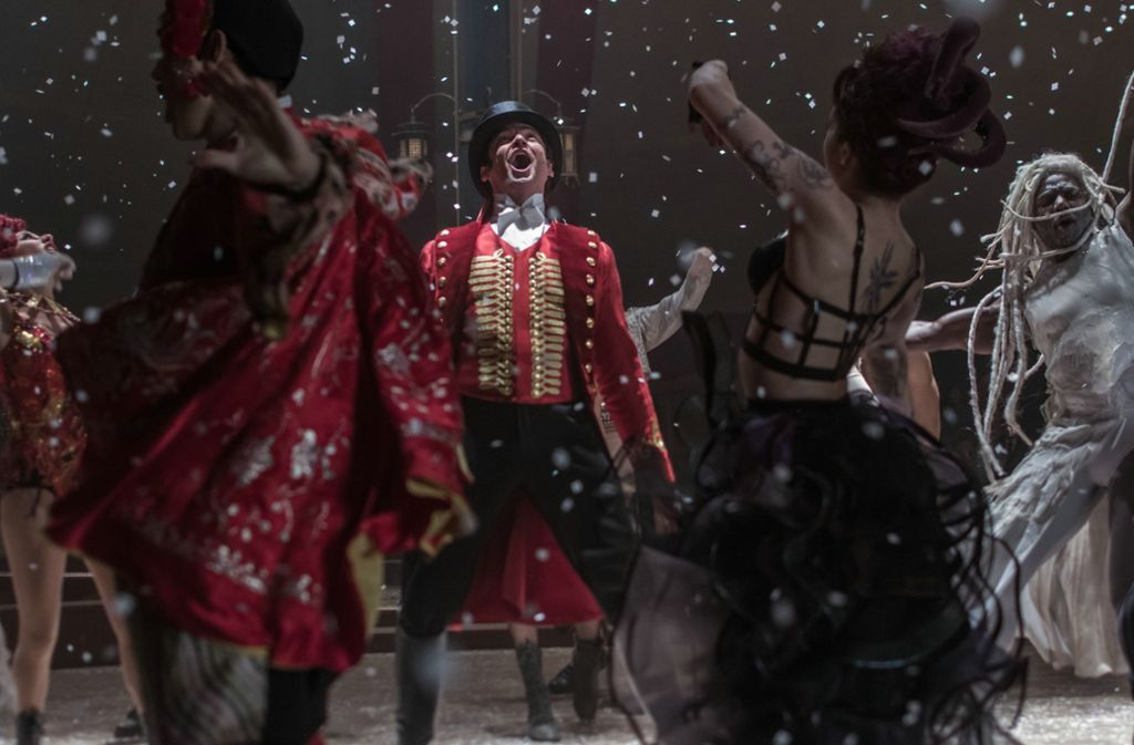 "Hugh Jackman, Szenenbild aus ""Greatest Showman"" Foto: 20th Century Fox"