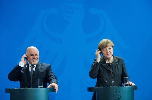 Deutschland liefert weitere Waffen
