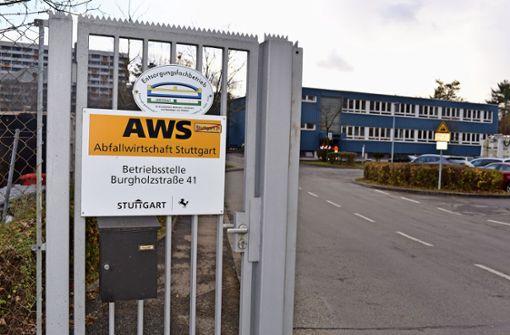 Abfallwirtschaft plant Neubau statt Anbau