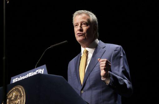 New Yorks Bürgermeister  bewirbt sich um Kandidatur bei Präsidentschaftswahl