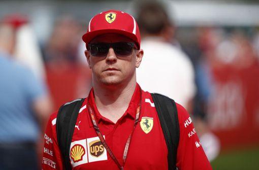 Kimi Räikkönen verlässt Ferrari