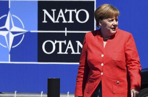 Merkels Balanceakt von Obama zu Trump