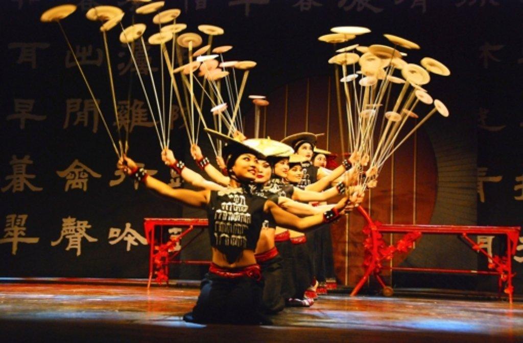 Der chinesische Zirkus ist gern gesehener Gast in Leonberg Foto: Veranstalter