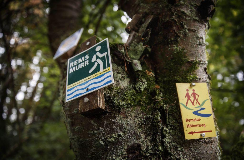 Die Wanderwege entlang der Rems werden neu beschildert. Foto: Gottfried Stoppel