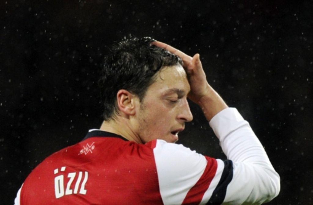 Mandy Capristo und Fußball-Nationalspieler Mesut Özil gehen getrennte Wege. Foto: dpa