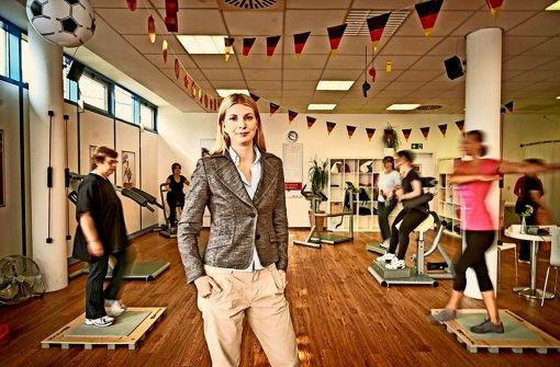 In Stuttgart gibt es  drei Mrs.-Sporty-Studios, 36 sind es im Südwesten. Die Unternehmerin Valerie Bönström arbeitet daran, dass sich ihre Zahl verdoppelt. Foto: Heinz Heiss