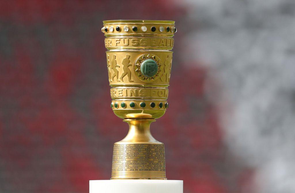 Das DFB-Pokalfinale findet nicht Ende Mai statt. Der Wettbewerb wird aufgrund der Coronavirus-Pandemie auf unbestimmte Zeit ausgesetzt. Foto: dpa/Jan Woitas