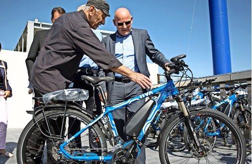 Zehn Prozent kommen jetzt mit dem Fahrrad