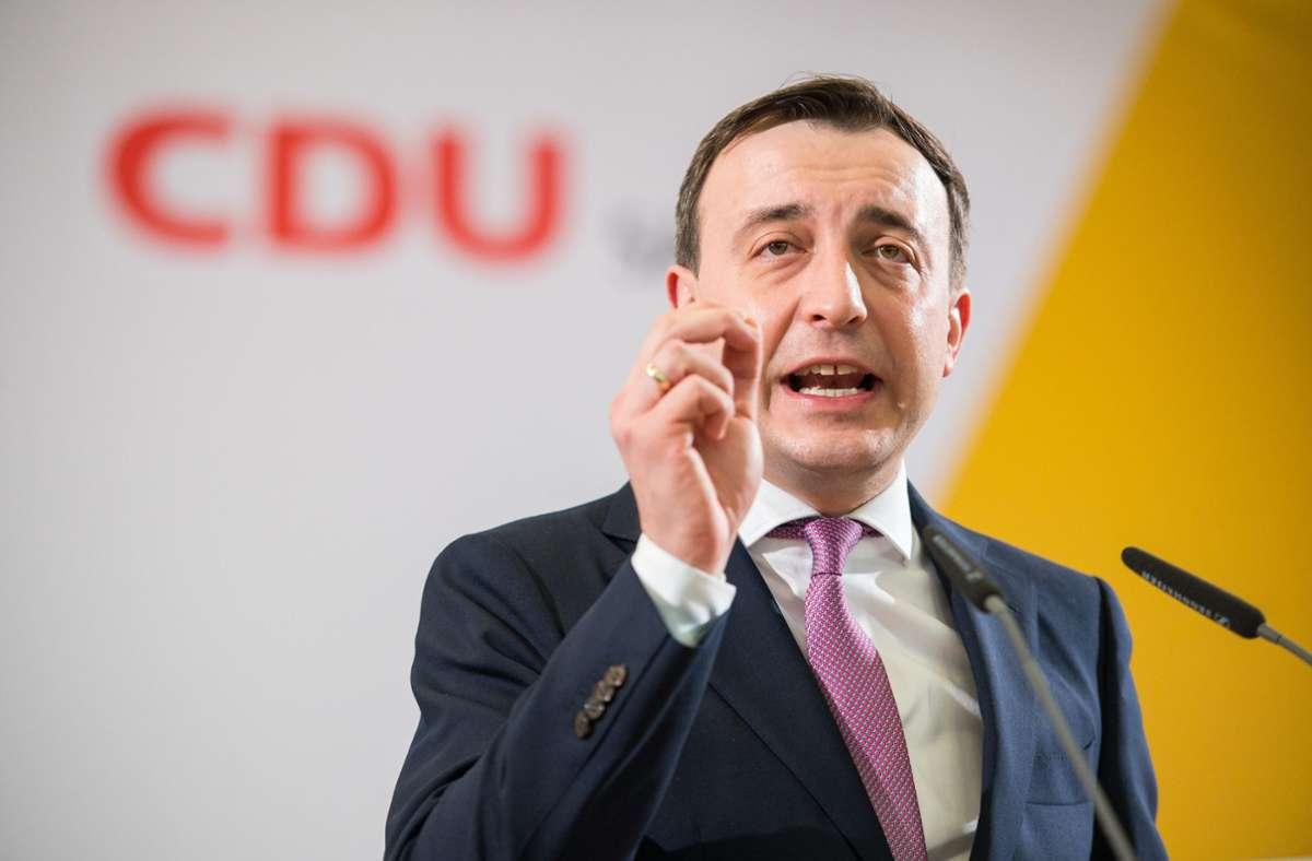 Paul Ziemiak ist Generalsekretär der CDU. (Archivbild) Foto: dpa/Oliver Dietze
