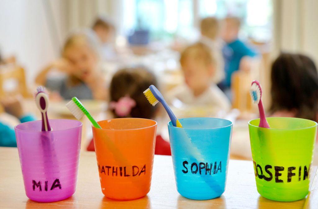 Alle Kindertagesstätten können weiterhin genutzt werden Foto: dpa