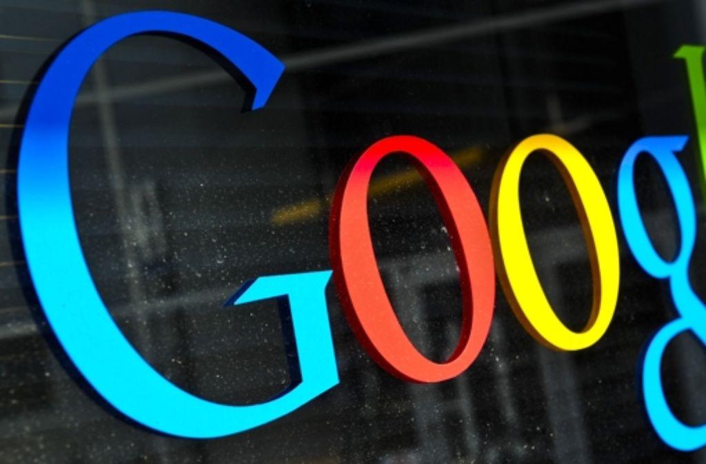 Bei Google sprudeln die Gewinne. Foto: dpa
