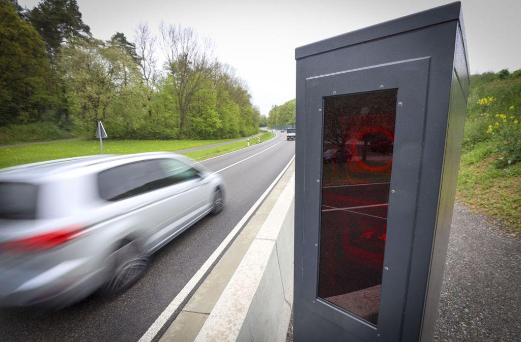 Ein Autofahrer ist bei Holzgerlingen geblitzt worden (Symbolbild). Foto: factum/Weise