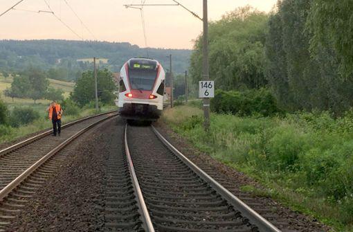 Panik einer Schafherde Grund für Zugunfall?