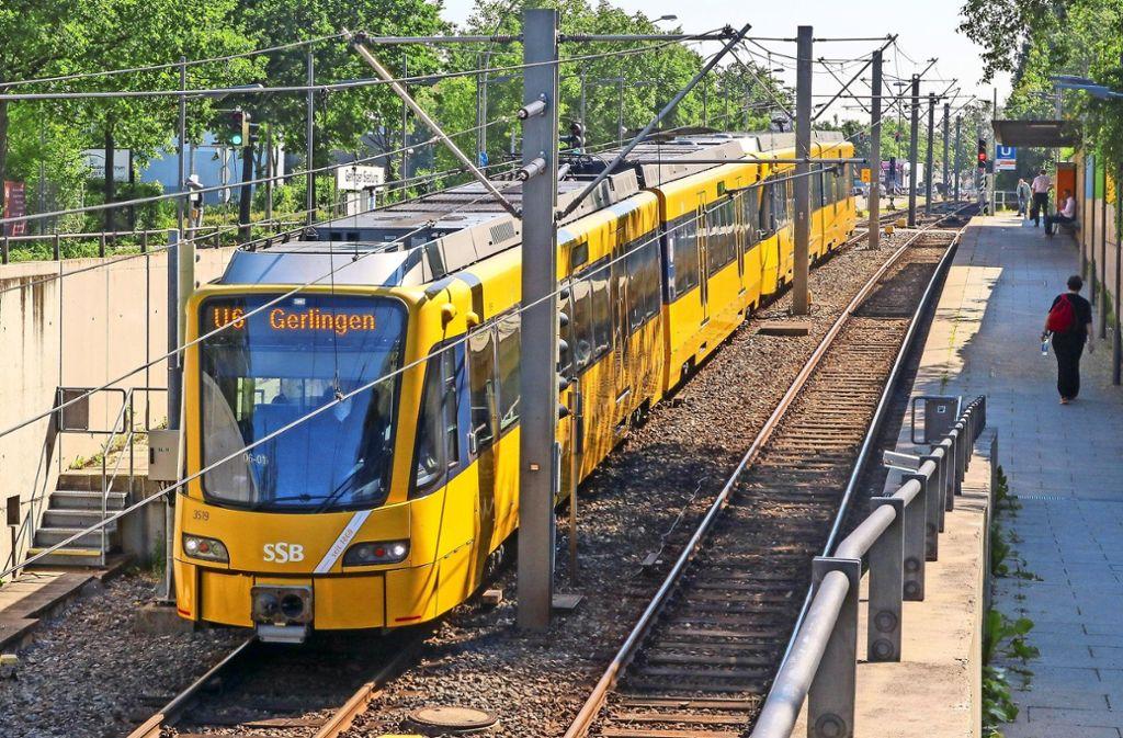 An der U-Bahn-Endhaltestelle Gerlingen ist es im vergangenen Herbst zu einer Prügelei gekommen. Foto: factum/Granville