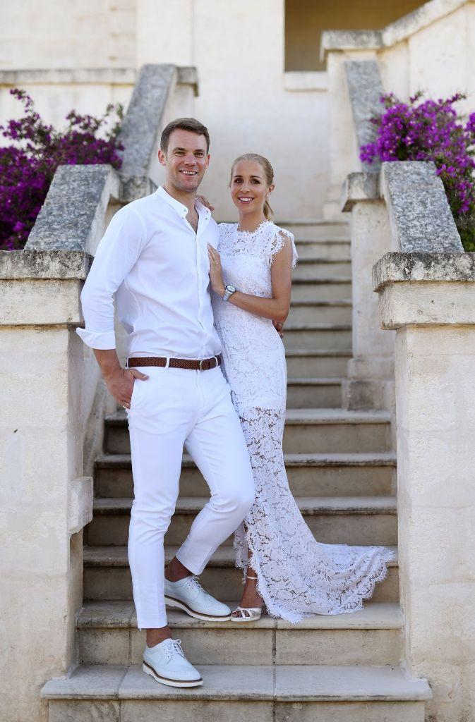 Manuel Neuer Hochzeit Bilder