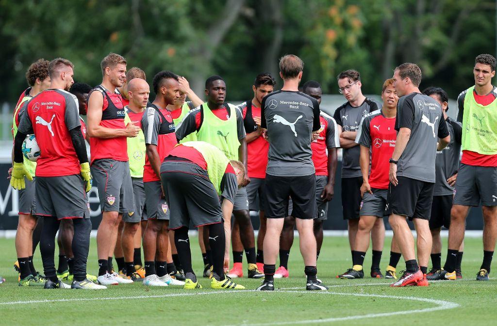 Beim VfB stuttgart haben längst nicht alle Spieler eine Zukunft in dieser Saison. Foto: Pressefoto Baumann