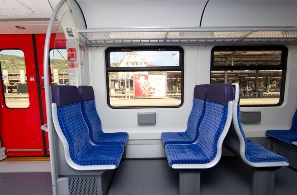 Fast 184 Sitzplätze hat eine S-Bahn ET 430. Durch die Aufgabe des 1.-Klasse-Abteils könnten zusätzliche dazukommen. Foto: