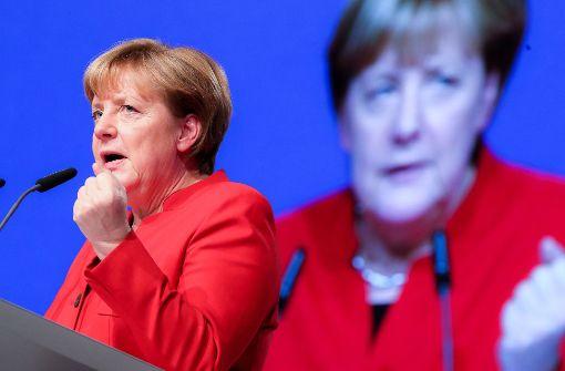 """Angela Merkel kommt zu """"StZ im Gespräch"""""""