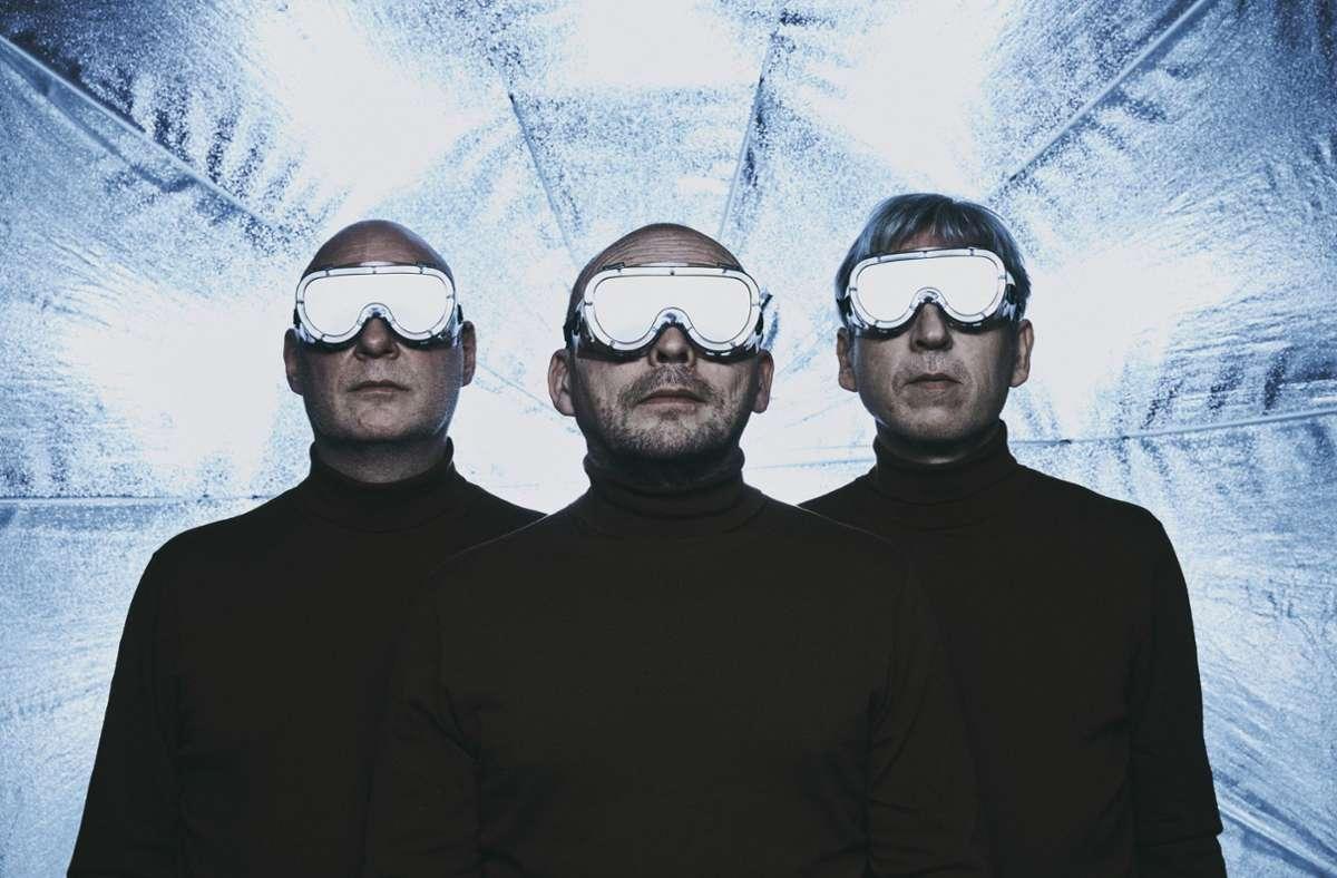 Rymden (von links): Dan Berglund, Bugge Wesseltoft, Magnus Öström Foto: Peculiar/Per Kristiansen