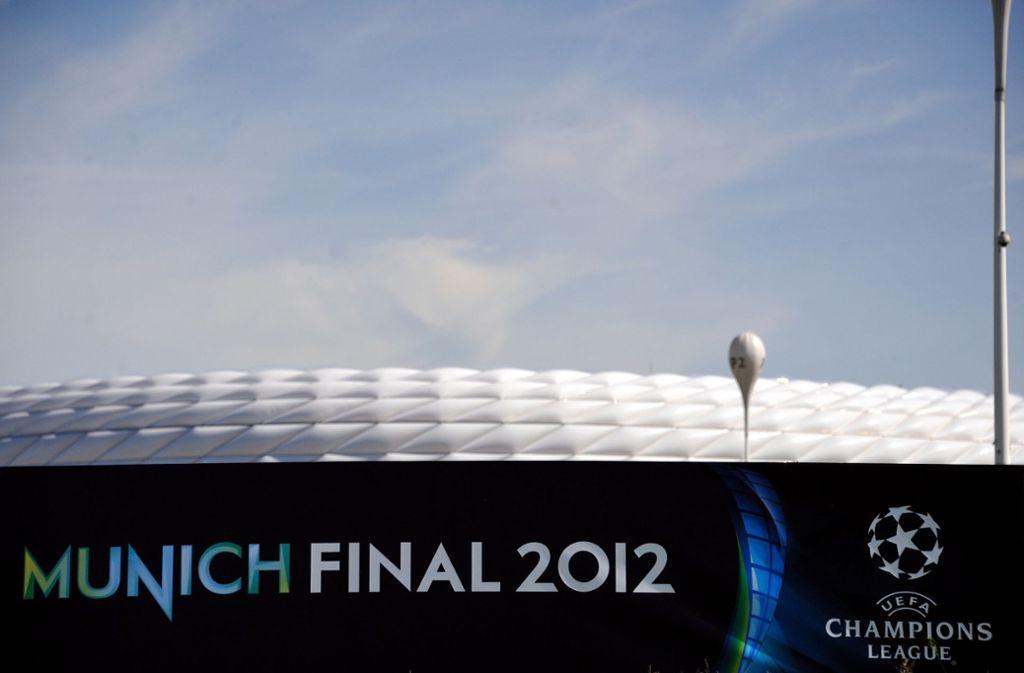 2012 war der FC Bayern bereits Gastgeber des Champions-League-Finals. Foto: dpa/Nicolas Armer