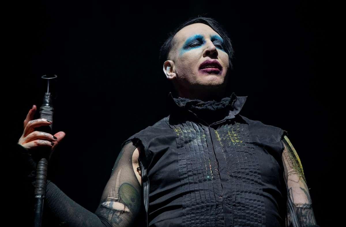 Marilyn Manson hat die Vorwürfe umgehend zurückgewiesen (Archivbild). Foto: AFP/SUZANNE CORDEIRO