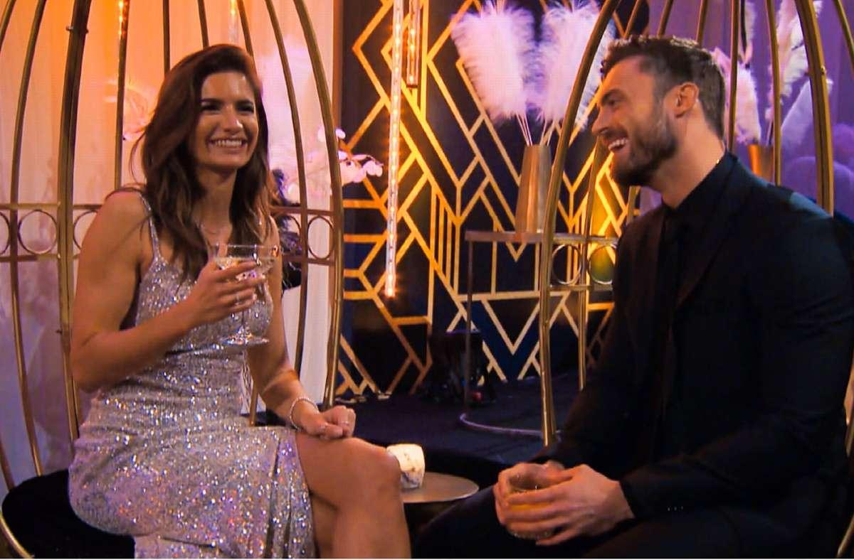 Michèle und Niko hatten in der ersten Folge Redebedarf, beide kennen sich bereits. Foto: RTL /TVNOW