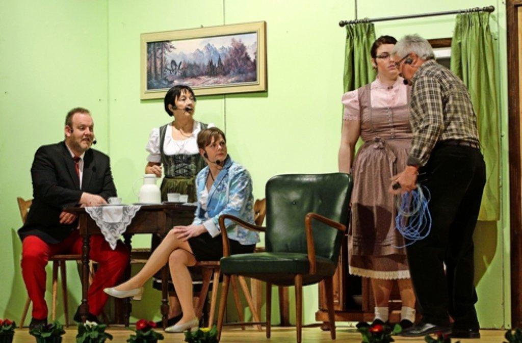 Das Würzbacher Bauerntheater Foto: factum/Bach