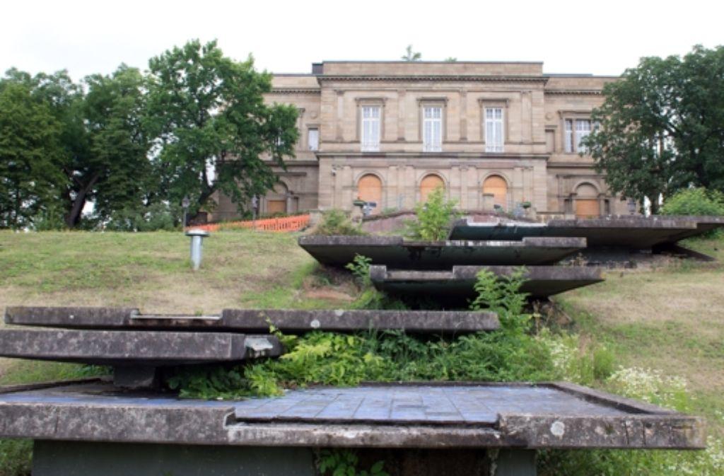 Die Villa Berg gelangt in den Besitz der Stadt Stuttgart. Foto: dpa