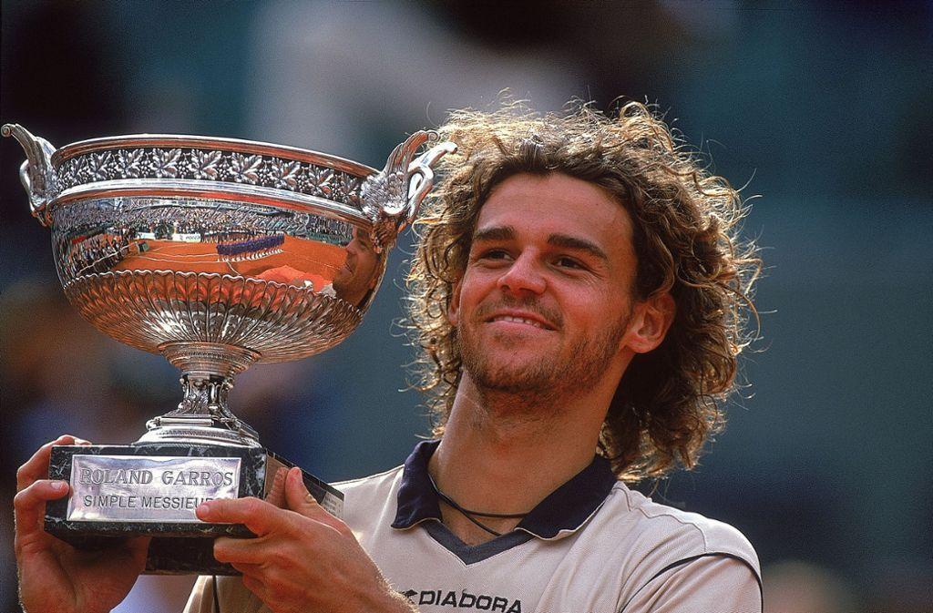 """Gustavo, genannt """"Guga"""" Kuerten. Drei Mal konnte der Sandplatzspezialist die French Open gewinnen. Wie unser Redakteur findet: zurecht! Foto: Getty Images"""