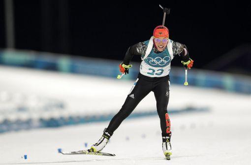 Biathletin Dahlmeier holt erstes Gold für Deutschland