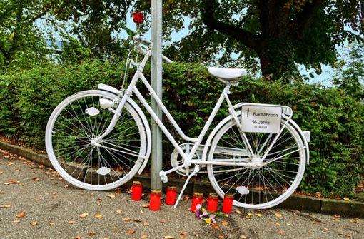 Drei Radfahrer in 2021 im Verkehr der Stadt verstorben