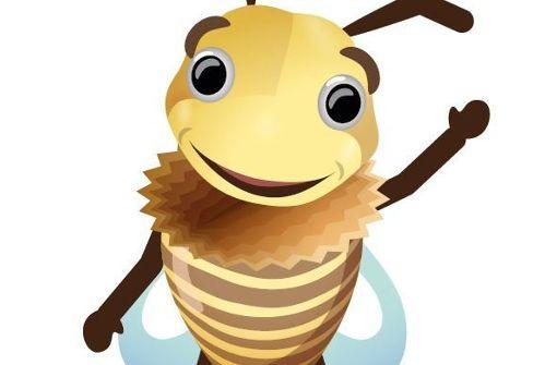 Biene wird zum Wappentier