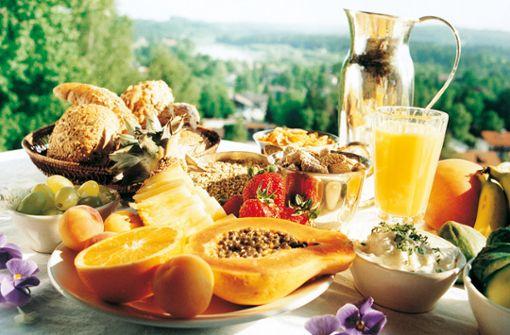 Schlank und leicht - gesunde Ernährung wird im Vitalkurort Bad Tölz großgeschrieben.